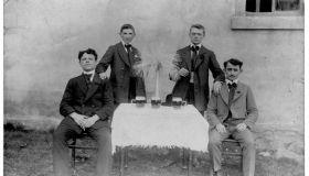 Старые семейные фотографии жителей города Ждяр над Сазавой (Моравия)