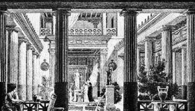 Интерьер помещений периода античности