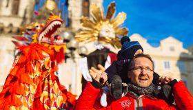 Масленица - фантастический мир чешских карнавалов и веселья!