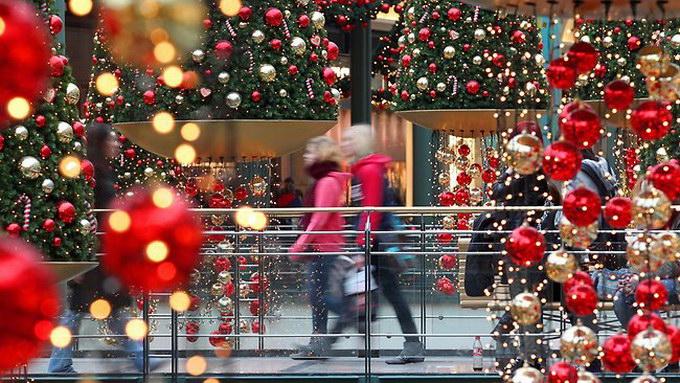 рождественский шопинг
