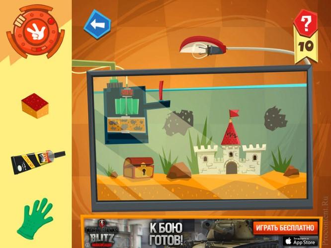 Скриншот игры Фиксики Мастера